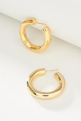 Anthropologie Mini Hoop Earrings By in Gold