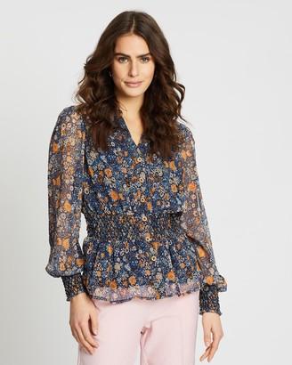 Y.A.S Pepitas Long Sleeve Shirt