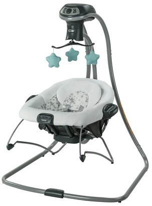 Graco DuetConnect LX with Multi-Direction Oskar