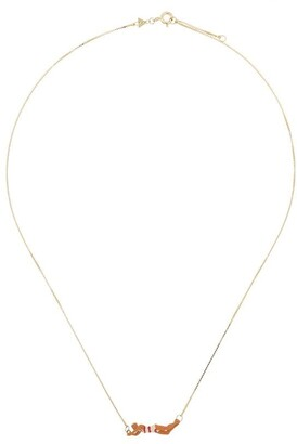 ALIITA 9kt yellow gold Nadadora necklace