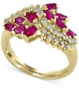 Effy Ruby Royale by Ruby (1-1/8 ct. t.w.) and Diamond (1/3 ct. t.w.) Ring in 14k Gold