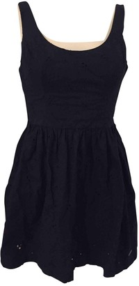 Abercrombie & Fitch Blue Cotton Dress for Women