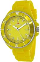 Seapro SP7417 Women's Sea Bubble Yellow Silicone Watch with Crystal Accents