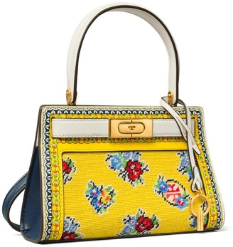 Tory Burch LEE RADZIWILL NEEDLEPOINT PETITE BAG
