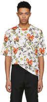 3.1 Phillip Lim White Surreal Squirrel Floral Box Cut T-Shirt