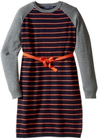 Toobydoo Stephanie Belted Sweater Dress (Toddler/Little Kids/Big Kids)