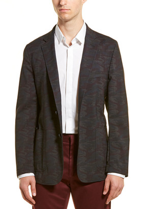 Hickey Freeman Wool Sport Coat
