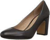 Amazon Brand - 206 Collective Women's Coyle Round Toe Block Heel Pump-High