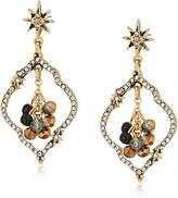lonna & lilly Tone Orbital Post Drop Earrings