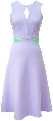 Mellaris Claudette Dress Heather/Apple Green Crepe