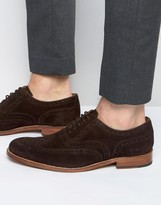 Grenson Dylan Suede Oxford Brogues