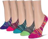 Asstd National Brand 5-pc. Liner Socks - Womens