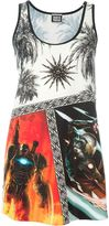 Fausto Puglisi mix print tank top - women - Polyamide/Spandex/Elastane - 40
