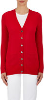 Barneys New York WOMEN'S CASHMERE V-NECK CARDIGAN SWEATER