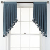 Royal Velvet Supreme Rod-Pocket Lined Swag Valance Pair