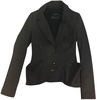 AllSaints Grey Cotton Jacket for Women