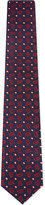 Eton Floral Paisley Print Silk Tie