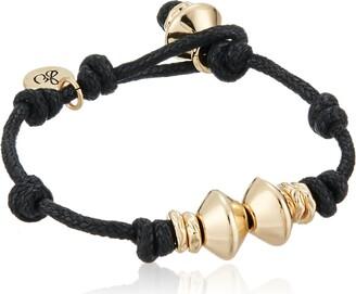Sam Edelman Knotted Gold Bead Bracelet