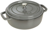 Staub Cast Iron Round Dutch Oven with Lid