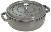 Staub Cast Iron Round Dutch Oven with Lid