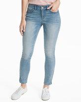 White House Black Market Curvy Embellished Skimmer Jeans
