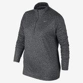 Nike Dry Element Women's Long Sleeve Running Top (Plus Size 1X-3X)