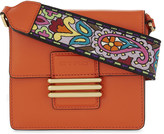 Etro Paisley leather shoulder bag
