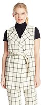 Pendleton Women's Petite Darcy Sleeveless Jacket