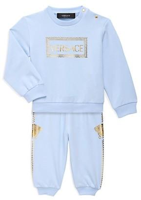 Versace Baby's 2-Piece Logo Sweatsuit