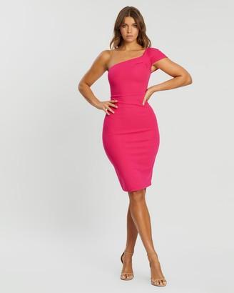 Atmos & Here Penelope One-Shoulder Dress