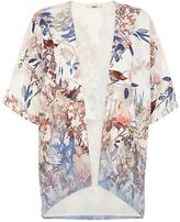 Oriental Border Kimono, Multi