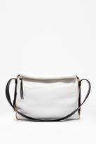 Flori Leather Colour Block Bag