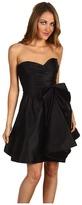 ABS by Allen Schwartz Strapless Bow Dress (Black) - Apparel