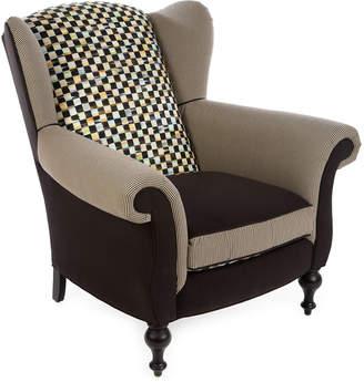 Mackenzie Childs MacKenzie-Childs Underpinnings Studio Wing Chair