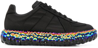 Maison Margiela Bubble-Sole Low-Top Sneakers