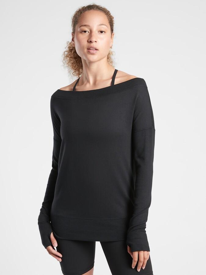 Athleta Studio Barre Sweatshirt
