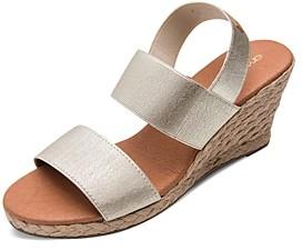 Andre Assous Women's Allison Strappy Espadrille Wedge Sandals
