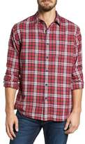 Grayers Winslow Slub Plaid Twill Sport Shirt