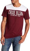 True Religion Short Sleeve TR Fight Football Tee