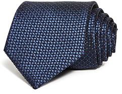 Giorgio Armani Mini Diamond Dot Neat Silk Classic Tie