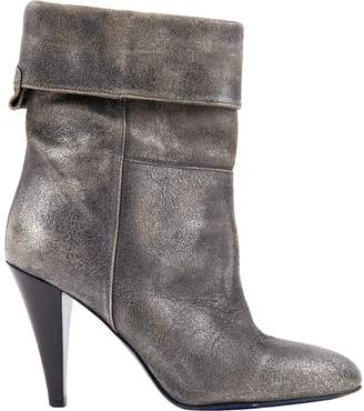 Mauro Grifoni \N Silver Leather Boots