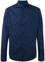 Armani Jeans micro logo print shirt