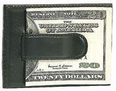 Bosca Nappa Vitello Front Pocket Wallet w/ Leather Clip