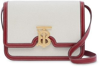Burberry small TB two-tone crossbody bag