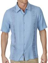 Nat Nast Men's Novelty Traditional Fit Short Sleeve Shirt