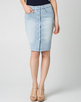 Le Château Stretch Denim Mini Skirt