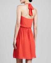 Erin Fetherston Embellished Halter Dress, Flame