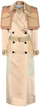 Valentino Satin trench coat