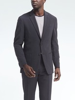 Banana Republic Slim Seersucker Wool-Blend Suit Jacket