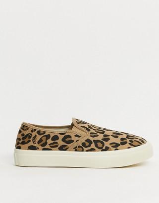 Rubi harper slip on sneakers in leopard